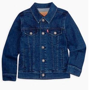 Levi's big kid Denim Trucker jacket size XL